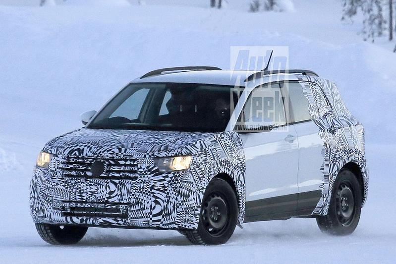Voor het eerst gesnapt: Volkswagen T-Cross
