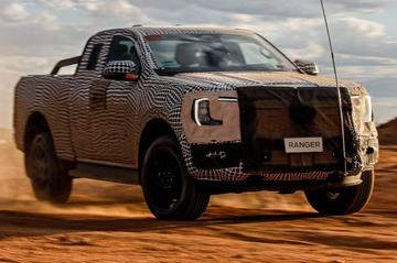 Nieuwe Ford Ranger in actie