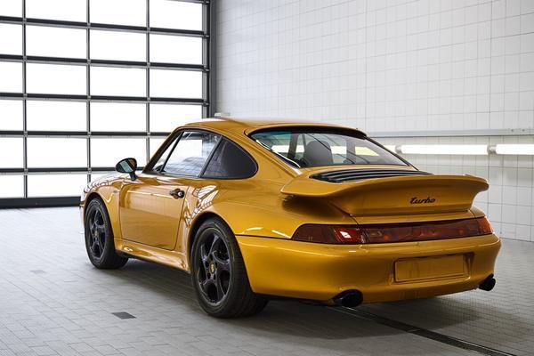 Porsche 911 993 'Project Gold' verkocht