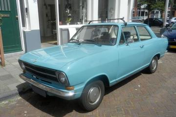 In het wild: Opel Kadett (1973)