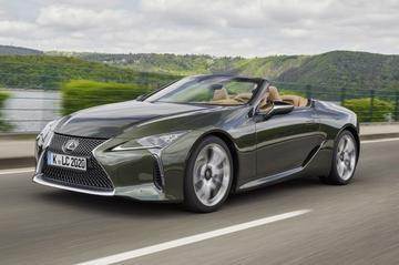 Lexus LC 500 Convertible €50.000 duurder dan Coupé