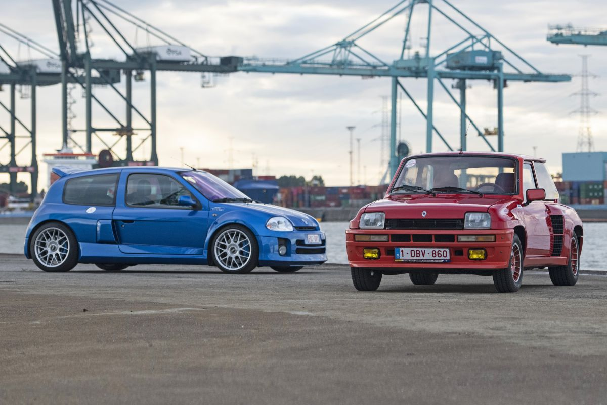 Renault Clio V6 vs. Renault 5 Turbo