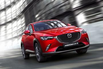Mazda frist CX-3 en 2 op