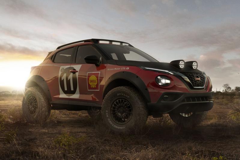 Nissan Juke Rally Tribute