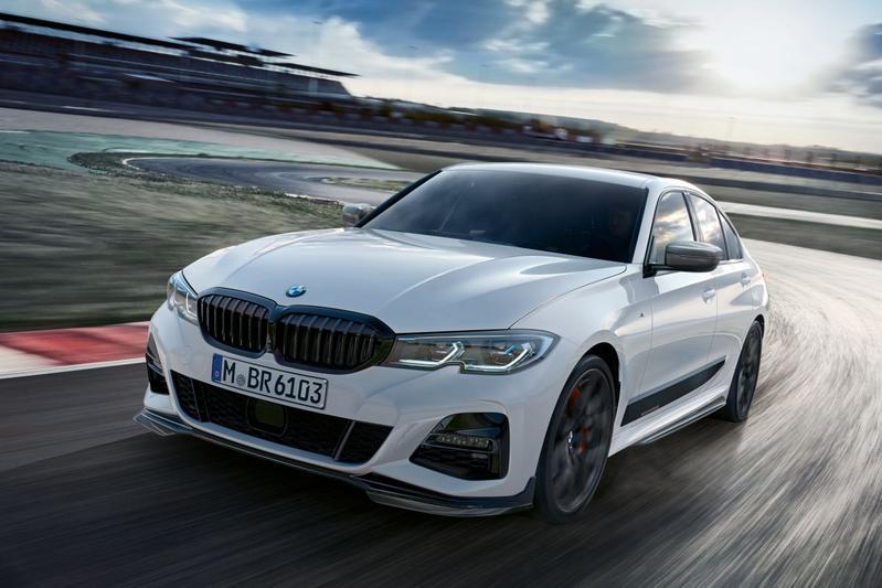 M Performance Parts voor nieuwe BMW 3-serie
