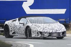 Lamborghini Huracán Spyder en Audi R8 Spyder
