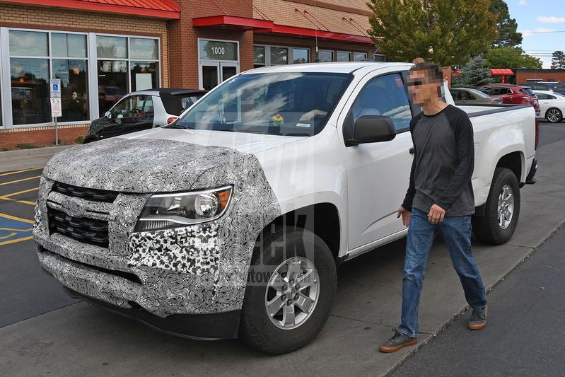 Spyshots Chevrolet Colorado GMC Canyon