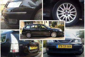Saab 9-3 Sport Estate 1.8i Linear Sport (2006)