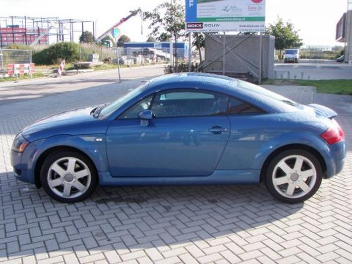 Audi TT Coupé 1 8 5V Turbo quattro 180pk (2001) review