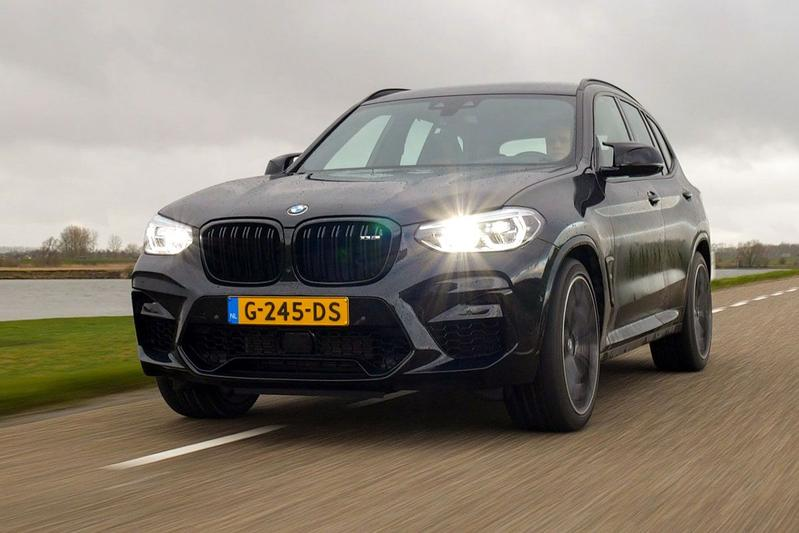 BMW X3 M Competition - Rij-impressie