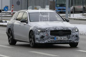Nieuwe Mercedes-Benz C-klasse Estate beter te zien