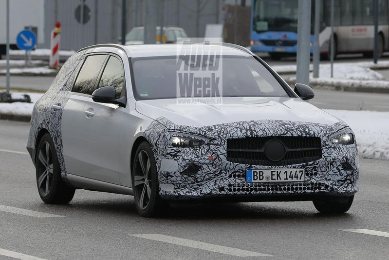 Mercedes-Benz C-klasse spionage