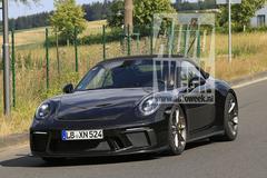 Mysterieuze Porsche 911 Cabriolet gesnapt