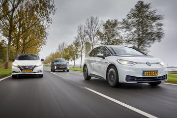 Kia e-Niro - Nissan Leaf - Volkswagen ID3 - Triotest