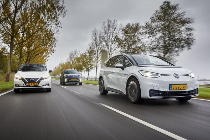 Nissan Leaf vs. Kia e-Niro vs. Volkswagen ID.3