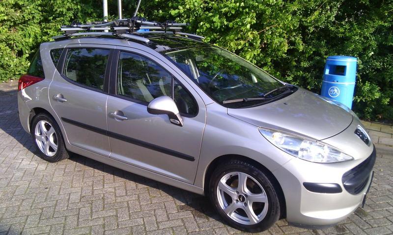 Peugeot 207 SW X-Line 1.6 HDiF 16V 90pk (2007)