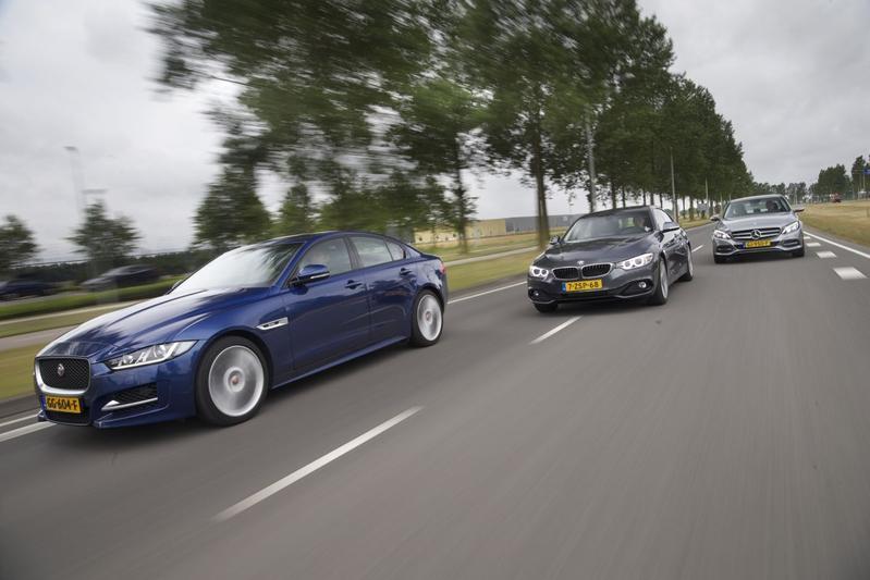 Jaguar XE - BMW 420 - Mercedes-Benz C220
