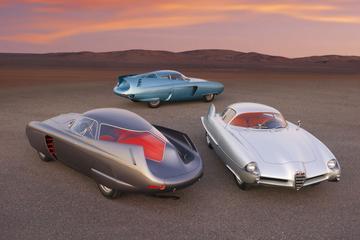 De Vluchtstrook: opzienbarende concept-cars uit de 'Space Age'