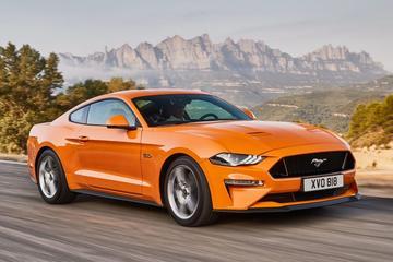 Ford Mustang alleen nog met V8
