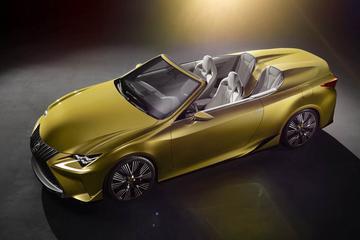 Lexus LF-C2 doet het zonder dak