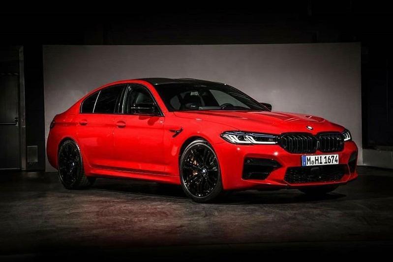 BMW M5 gelekt