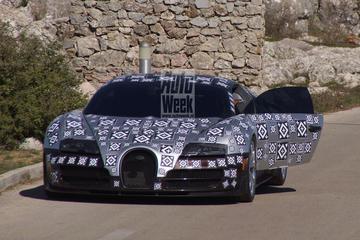 'Bugatti Chiron haalt topsnelheid van 461 km/h'