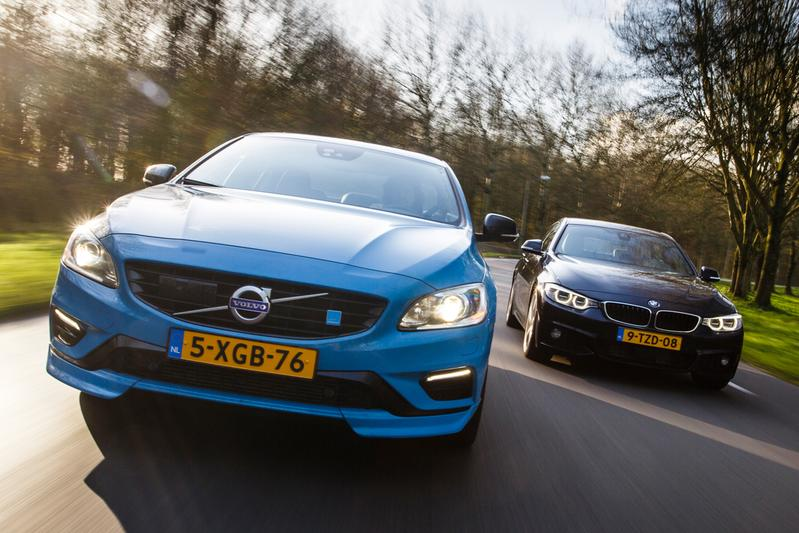 Dubbeltest - Volvo S60 Polestar vs BMW 435i Gran Coupe