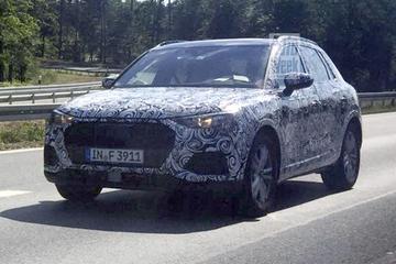 Gesnapt: nieuwe Audi Q3