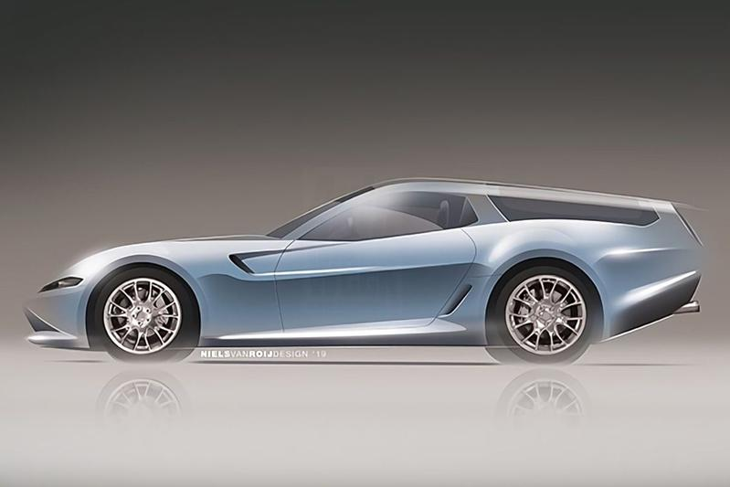 Niels van Roij Design Daytona Shooting Brake Hommage