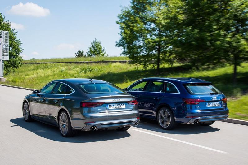 Audi A4 en A5 als g-tron geprijsd