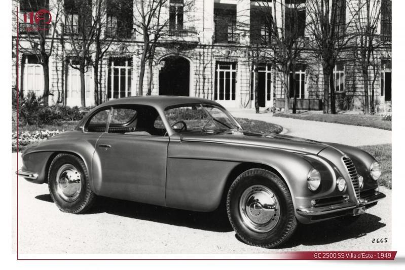 Alfa Romeo 8C 2500 SS Villa d'Este