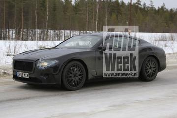 Gesnapt: nieuwe Bentley Continental GT