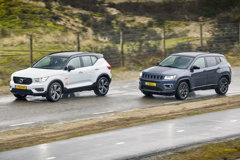 Jeep Compass vs. Volvo XC40 - Dubbeltest