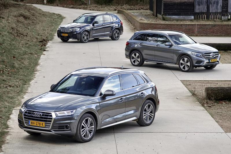 Audi Q5 - BMW X3 - Mercedes-Benz GLC