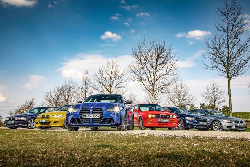 Alle generaties BMW M3