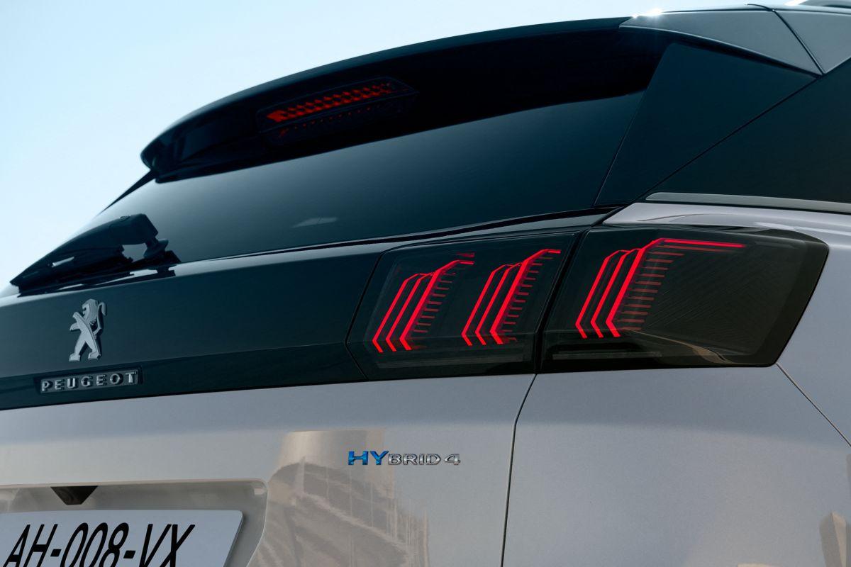 Peugeot 3008 facelift Hybrid4