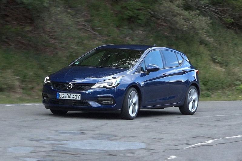 Opel Astra - Rij-impressie