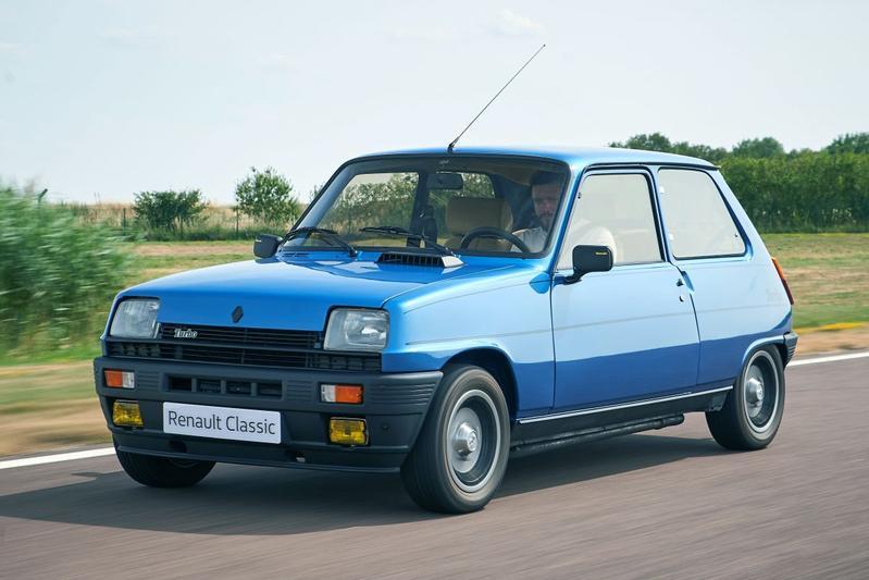De historie van de Renault Turbo