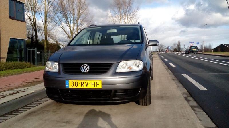 Volkswagen Touran 1.9 TDI 105pk Turijn (2005)