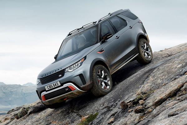 'Land Rover Discovery SVX afgeschoten'