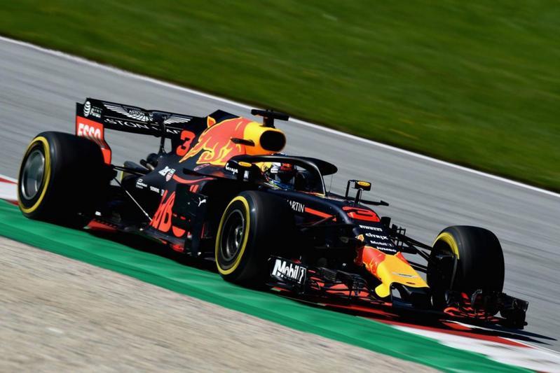 Max Verstappen Red Bull Formule 1 racen 2018