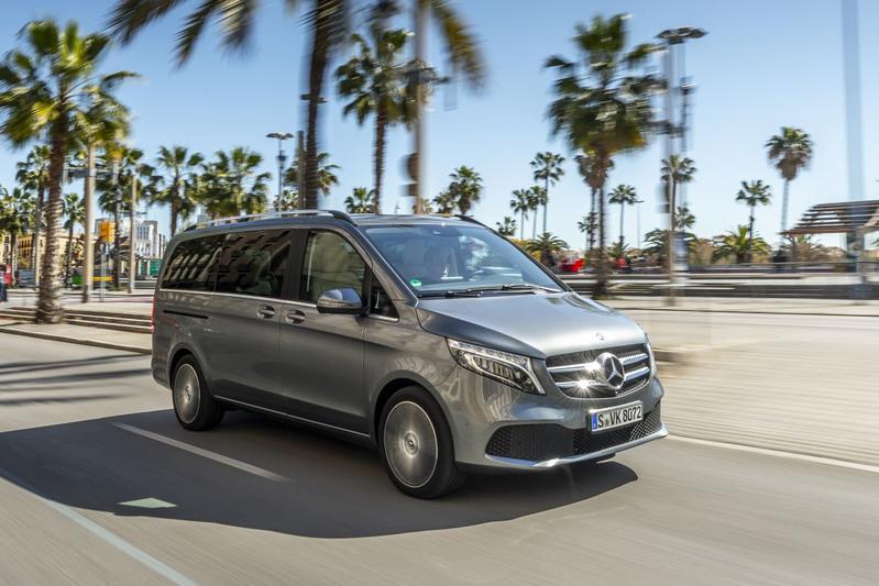 Mercedes-Benz V-klasse - Eerste rijtest