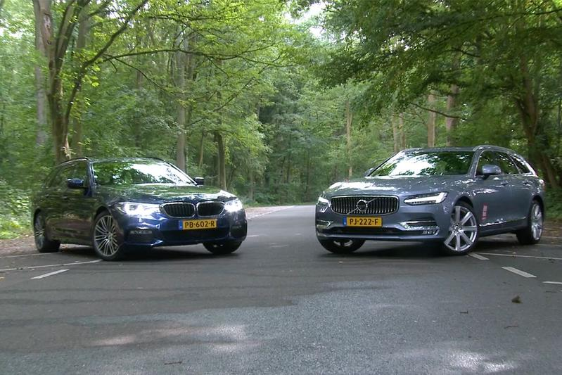 BMW 530i Touring vs. Volvo V90 T5 - Dubbeltest
