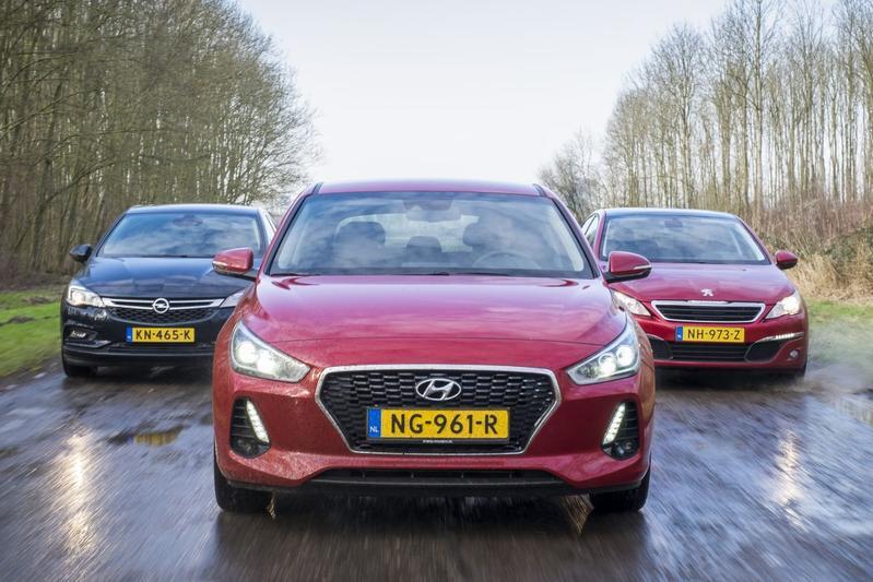 Hyundai i30 - Opel Astra - Peugeot 308