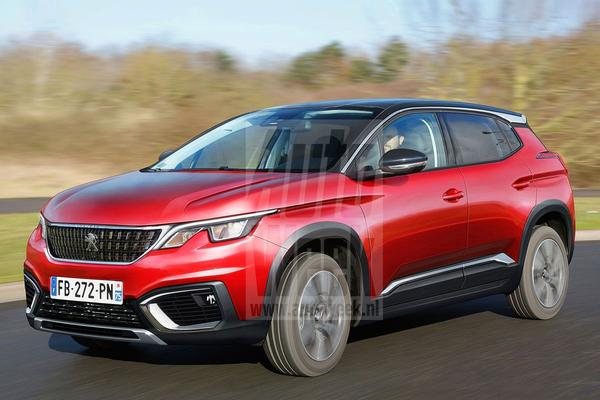 Blik to the future: Peugeot 2008