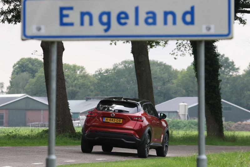 Buitenland in Nederland per Nissan Juke