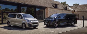 Prijzen Citroën ë-Jumpy Combi en ë-Spacetourer bekend
