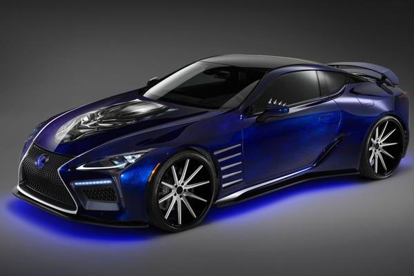 Lexus presenteert SEMA-line-up