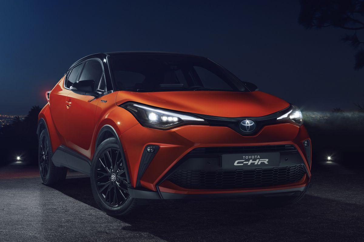 Toyota C-HR Facelift (2019) 3