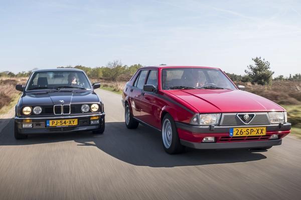 Video: Alfa Romeo 75 V6 vs BMW 325i - Classics dubbeltest